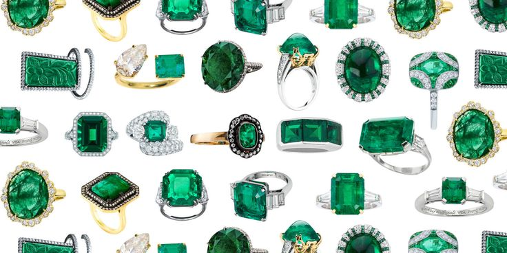 Ever Green: The Return of the Emerald Engagement Ring  - TownandCountryMag.com