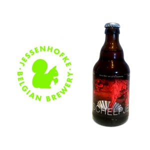 'Het Schelpje' (the Shell) is an organic beer brewed for 'Lets Oostende' in cooperation with brewery Strubbe. It has become a powerful triple of 9%. As with all the other beers by Jessenhofke they used hop from Poperinge by Joris Cambie whom you know from one of our previous boxes where you could discover a Tripel by de Plukker.