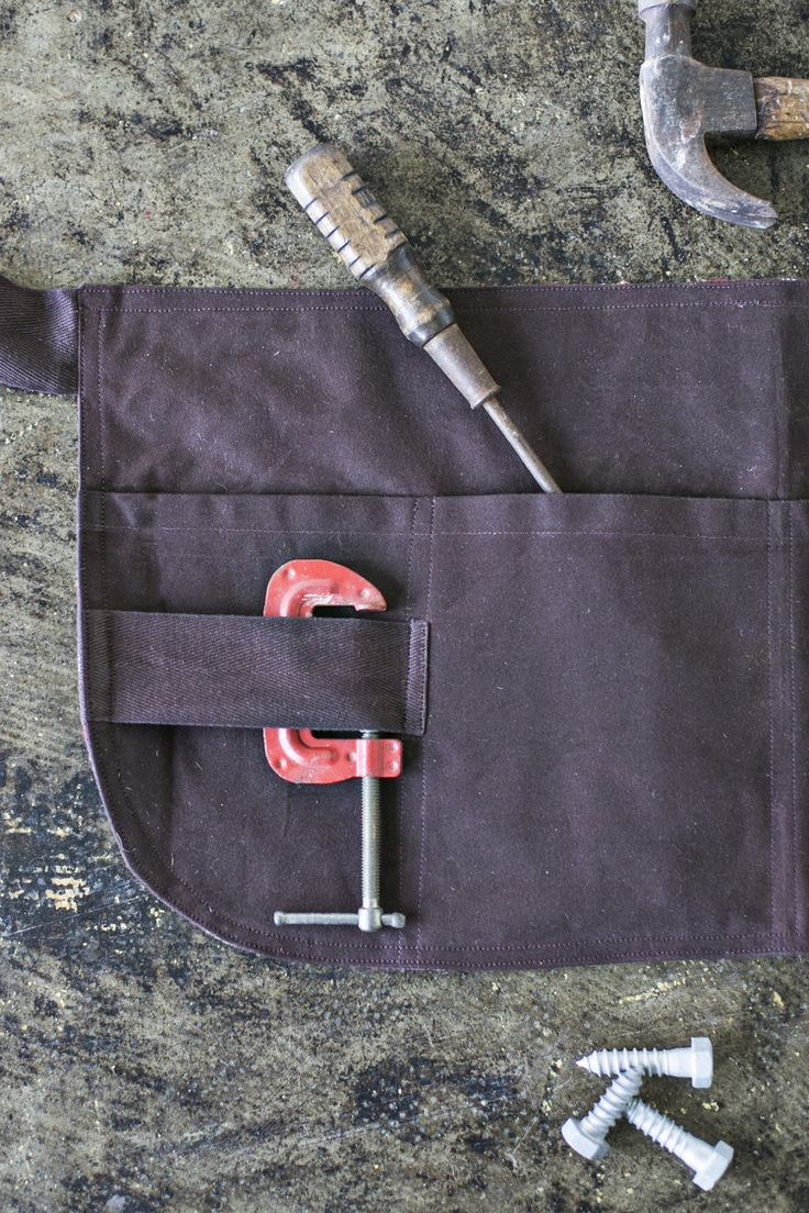 Waxed Canvas Craftsman Apron / Father's Day Gifts