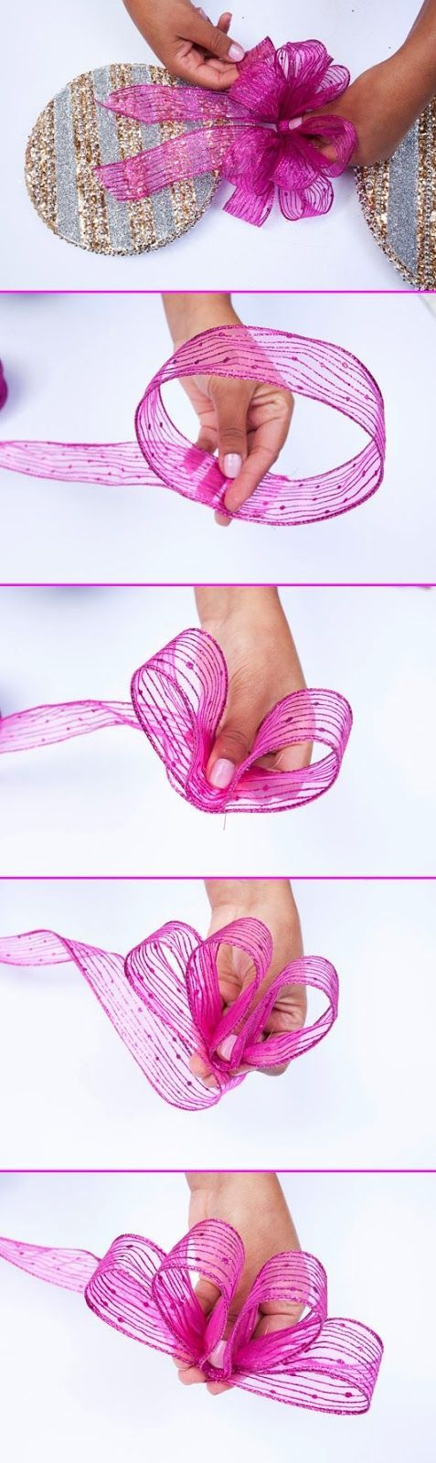 Diy Projects: How to Tie a Bow