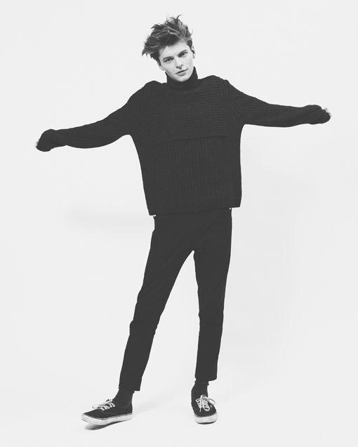 Knitted Sweater  (john hein / the last magazine: november 2012)