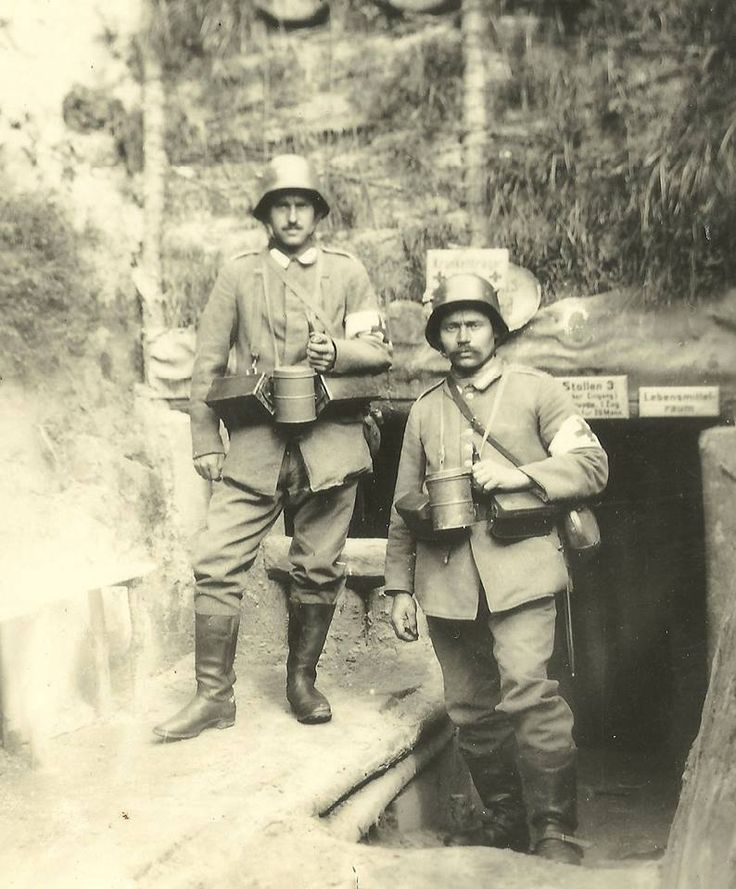 Two german soldiers.
