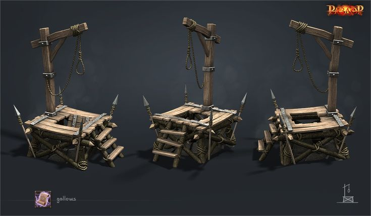 ArtStation - gallows, Vladimir Voronov