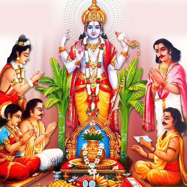 SATYANARAYAN KATHA PUJA PACKAGE (Pujan Samagri + Pandit Ji )   Among the kathas that are prevalent in India or any other part of the world among Hindus, 'Shri Satyanarayan Vrat Katha' is the most popular.Satyanarayana vrat is the easiest and most inexpensive way of self-purification and self-surrender at the lotus feet of Hari. One who observes it with full devotion and faith is sure to attain his heart's desire. Our shastras state that during the 'Kalyug,'