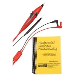 LOADpro Bundle - Dynamic Test Leads and Fundamental Electrical Troubleshooting Book