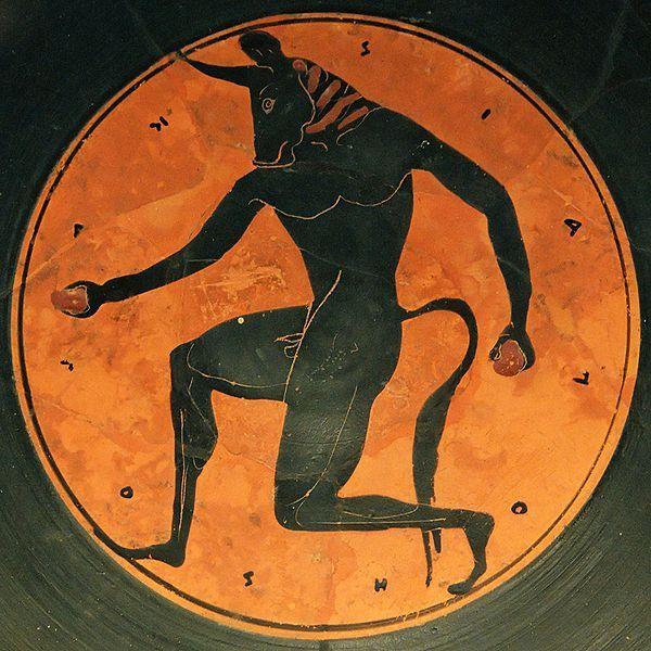 Minotauro Mitologia Griega : Historia Universal
