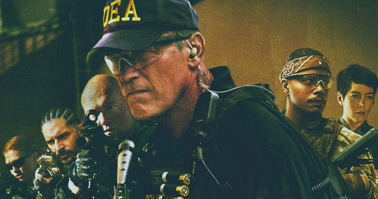 Sabotage Poster with Arnold Schwarzenegger -- The action icon portrays the leader of a DEA task force. Sam Worthington co-stars in this action-thriller from director David Ayer. -- http://wtch.it/Wxj53