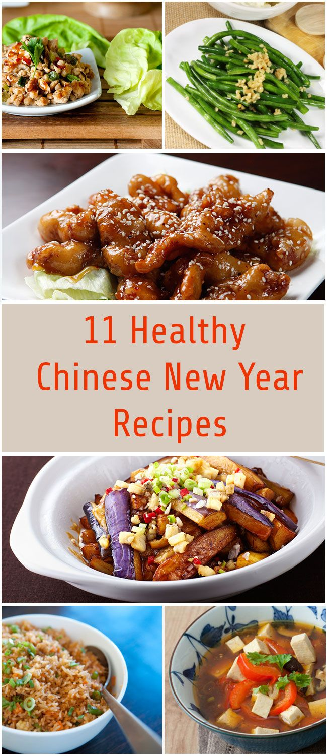 Are you ready to party like it's 4713? More than a billion people will celebrate Chinese New Year (or Lunar New Year) from February 19 to March 5. Many of the traditions and superstitions surrounding the holiday are thought to bring good luck. For good luck with your fitness and weight loss goals, we've created a full menu of healthy recipes for the occasion. #recipes #chineserecipes #newyear #dinner