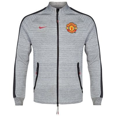 Manchester United N98 Tech Fleece Track Jacket-Dk Grey Wonder if someone might like this....
