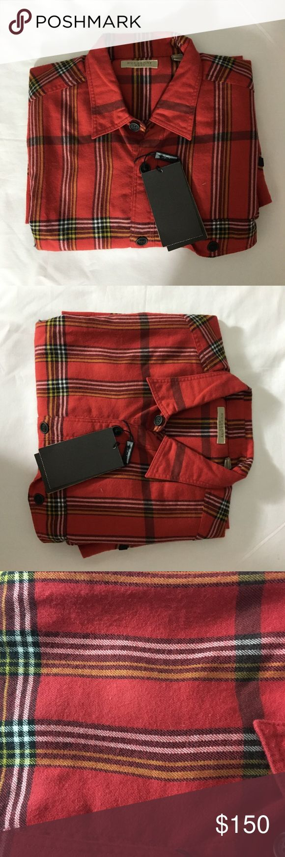 Burberry Men's Thornaby Check Casual Button-Down Button-down reworked in woven tonal oversize check Button-down point collar Long sleeves Button cuffs Button front Chest patch pocket Shirttail Burberry Shirts Casual Button Down Shirts