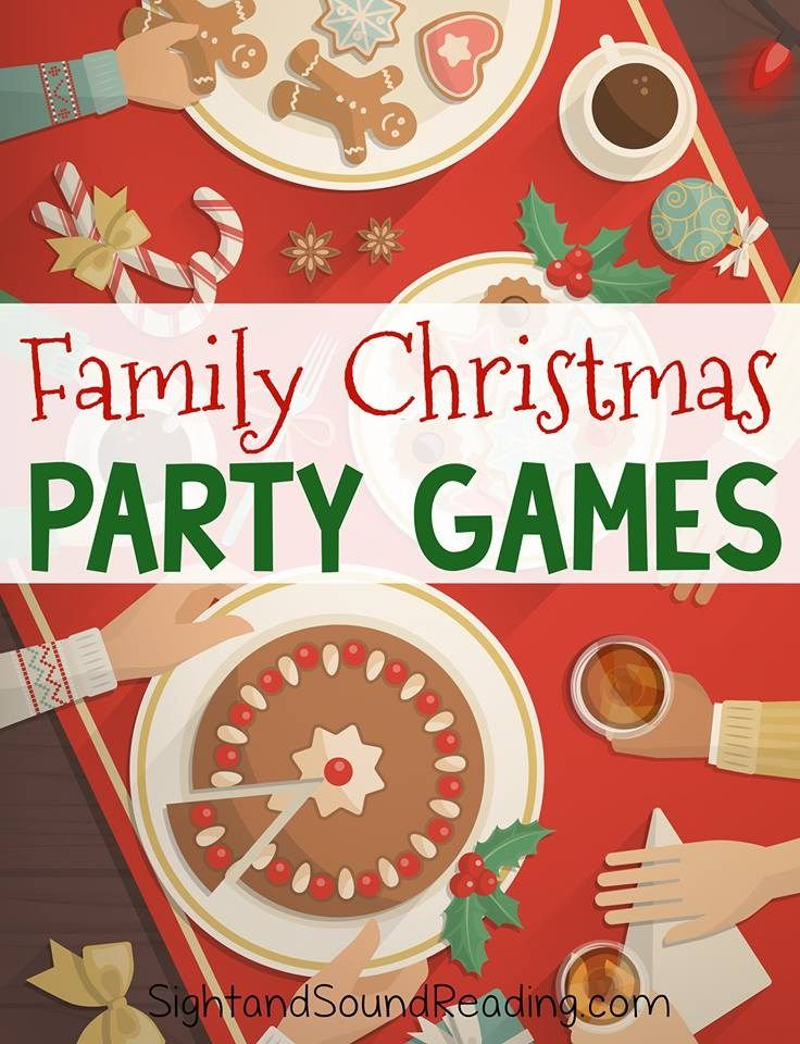 10 Group Party Games Christmas Christmas, Christmas party games