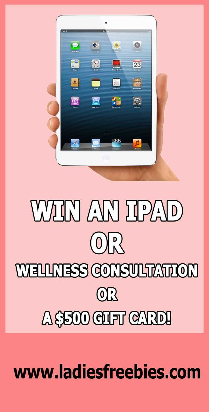 Win A 16GB iPad2 from Benefiber, or a wellnes consultation, or a $500 gift card! AMAZING! #giveaways #sweepstakes #giftcards #ipad