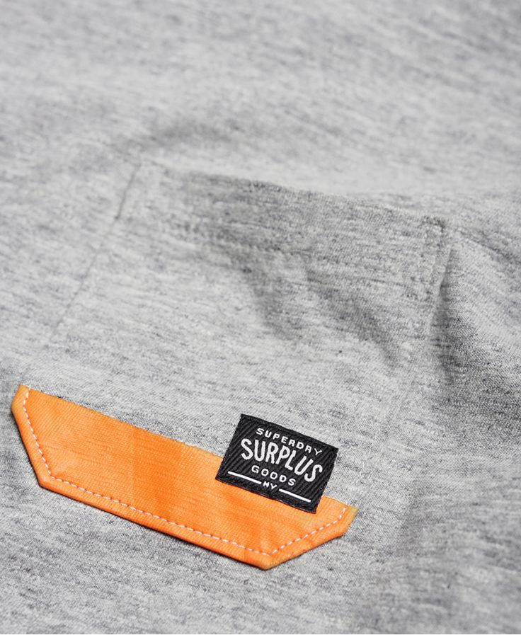 Superdry Surplus Goods T-shirt met zak - T-shirts voor Heren