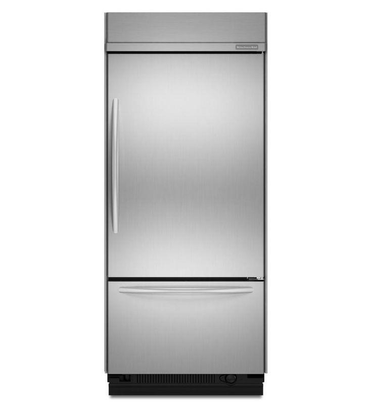 Kbrc36fts kitchenaid 208 cu ft 36inch width right