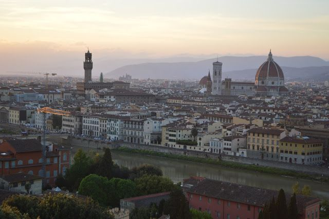 Travel in Clicks: Florence view from Piazza Michelangelo