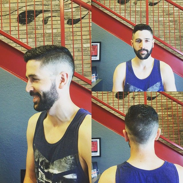 "4 Likes, 1 Comments - Maria E-B (@grizlybarber) on Instagram: ""Some hair got a transformation today!"""