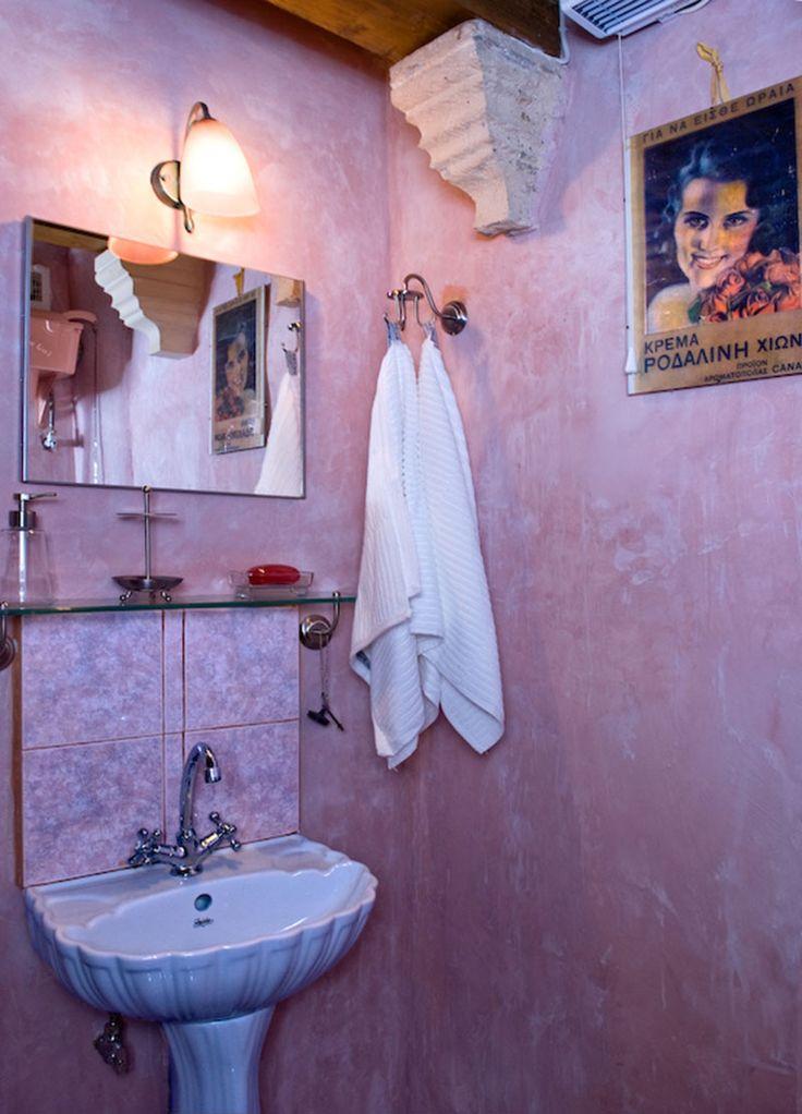 www.anassa-crete.gr Anassa Historical House #villa #historical_house #crete #rethymno #greece #vacation_rental #private #luxurious_accommodation #holidays #summer_in_Crete #bathroom