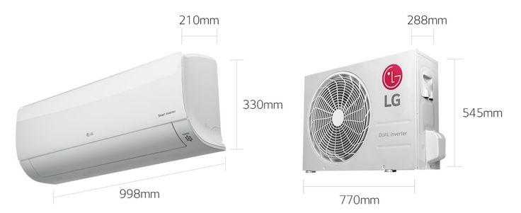 Deluxe Smart Inverter 5 kWatts LG D18RN.NSK/D18RN.UL2