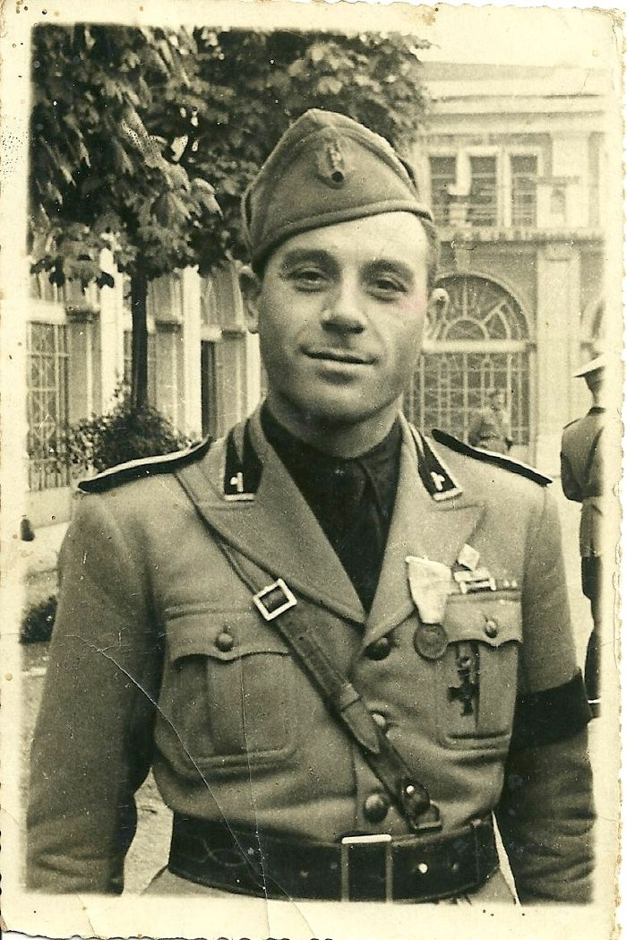 R.S.I.1944 - GNR -Guardia Nazionale Repubblicana officer uniform, pin by Paolo Marzioli