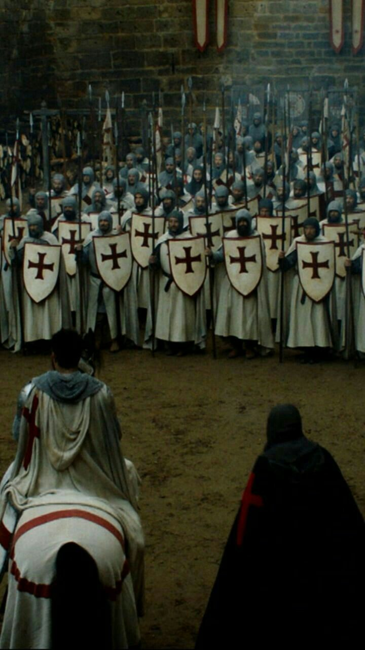 Knights Templar from Knightfall TV Show on the History Channel