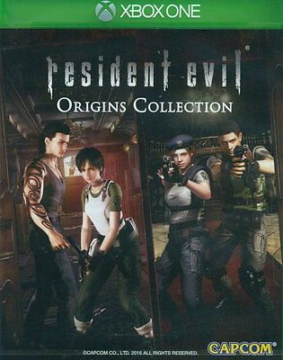 cool New Microsoft Xbox One Games Resident Evil Origins Collection HK Version - For Sale