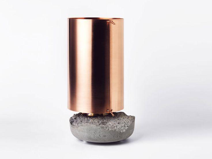 // David Taylor lamp: Lamps, Inspiration, Lighting, Taylors, Design, Concrete