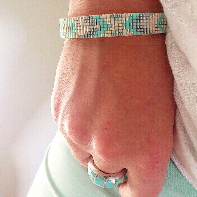 Bracelet miyuki rosemoustache.com