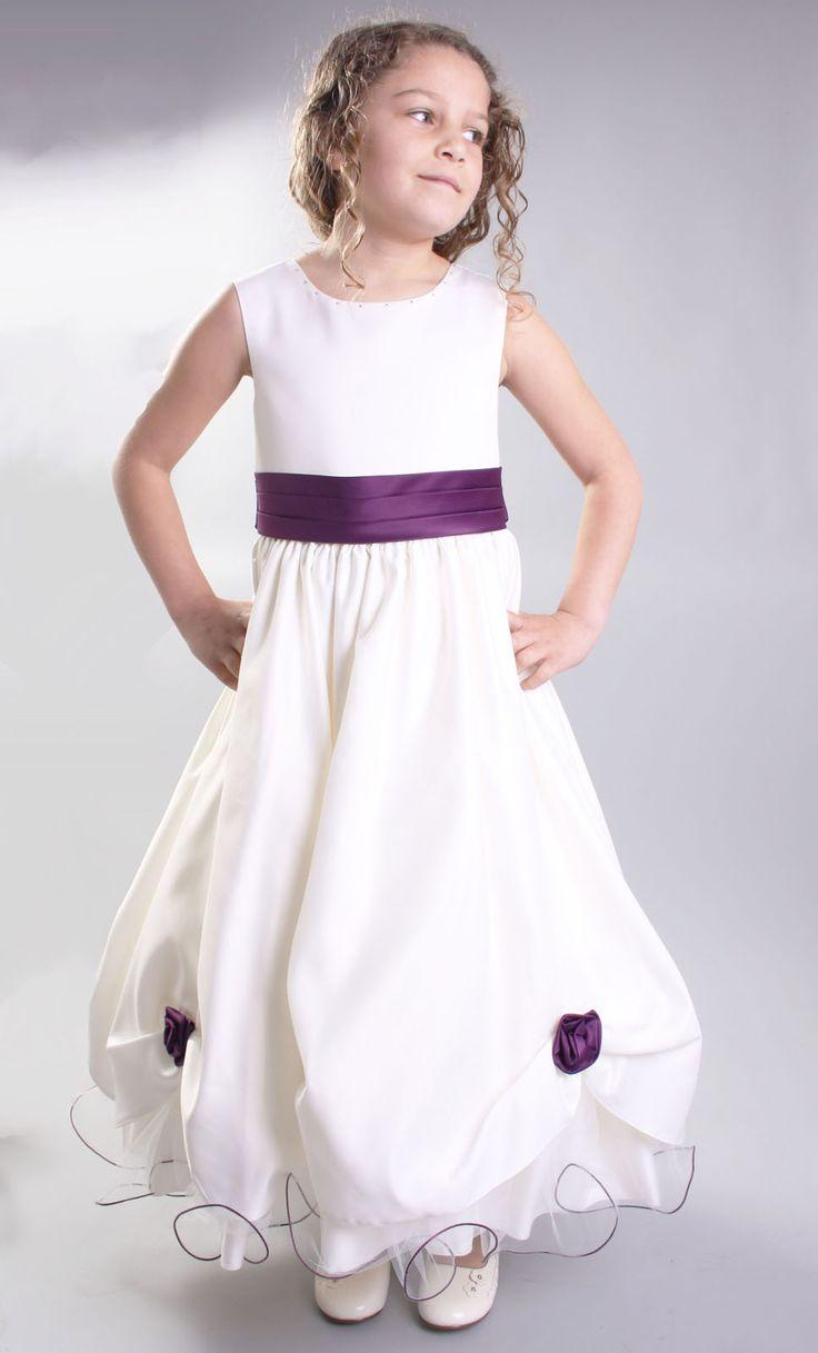 The 25 best cadbury purple bridesmaid dresses ideas on pinterest flowergirlbridesmaiddresses details about flower girl dresses cadburys purple bridesmaid ombrellifo Images