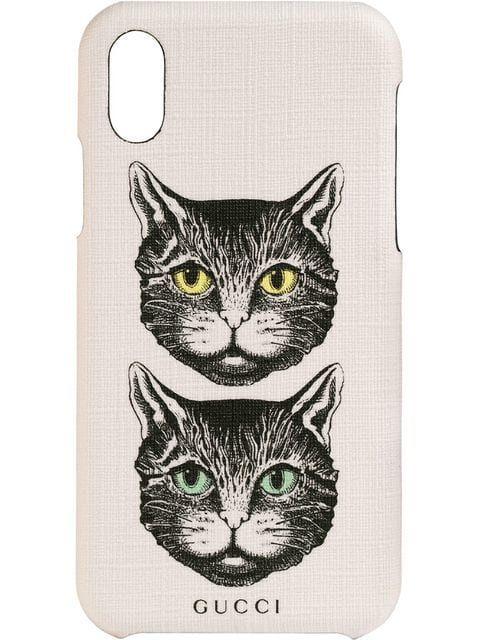 f3cfa5904330 Gucci iPhone X/XS Case With Mystic Cat in 2019 | Unusual i Phone ...
