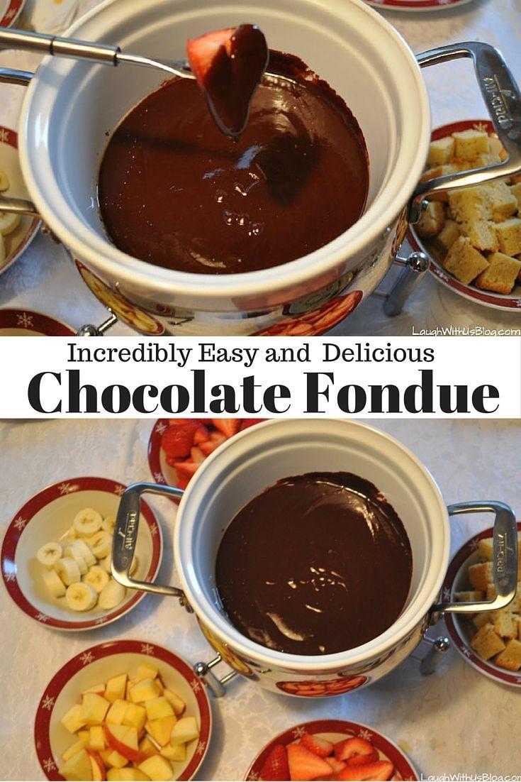 Best 20+ Easy chocolate fondue recipe ideas on Pinterest ...