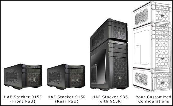 Cooler Master HAF Stacker - Google Search