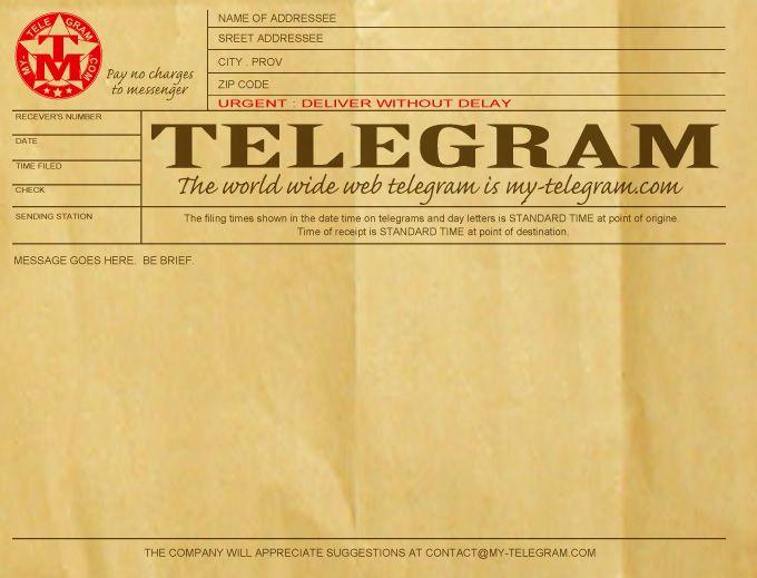 10 Best Images About Diy Telegram On Pinterest