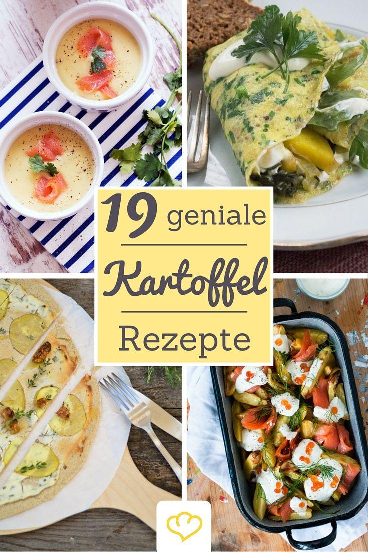 20 geniale Kartoffel-Rezepte von unseren liebsten deutschen Foodbloggern! In den Bloggerküchen wurde aus der Knolle – egal, ob klein, kunterbunt gemischt oder gar süß – die ein oder andere ausgefallene Leckerei gezaubert. Und zwar im Ofen, in der Pfanne und im Suppentopf.