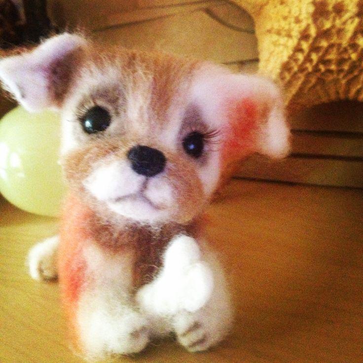 Верный друг! Good toy dog!)