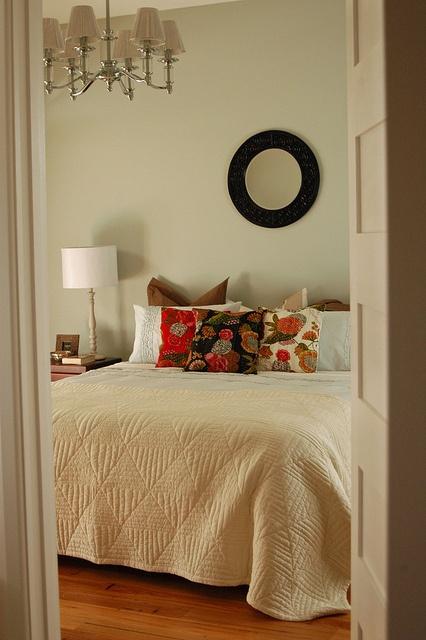 My cosy bedroom by RosieRoseRome, via Flickr