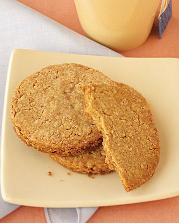 Wholemeal-Almond Biscuits - Martha Stewart Recipes