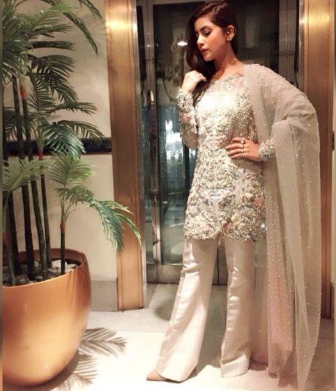Elan Pakistani dress worn by Sohai Ali Abro