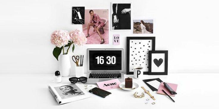 Decoraciones para chicas que quieren una oficina en su recámara