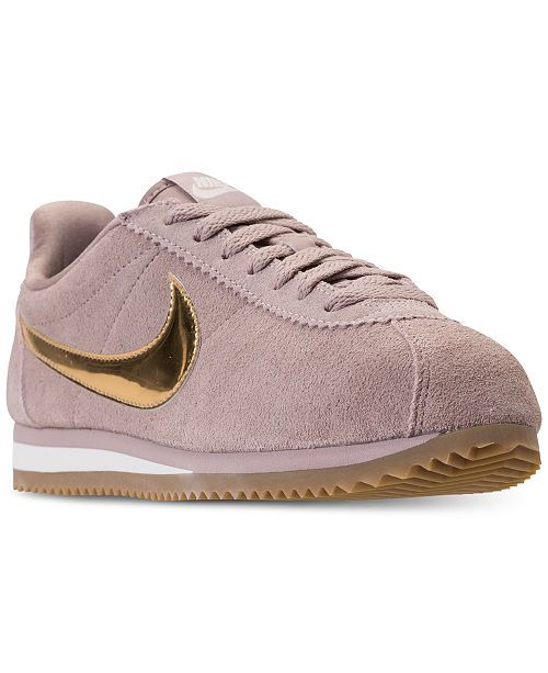 online store 2418a 48199 Nike Women s Classic Cortez SE Casual Sneakers from Finish Line  amp   Reviews - Finish Line