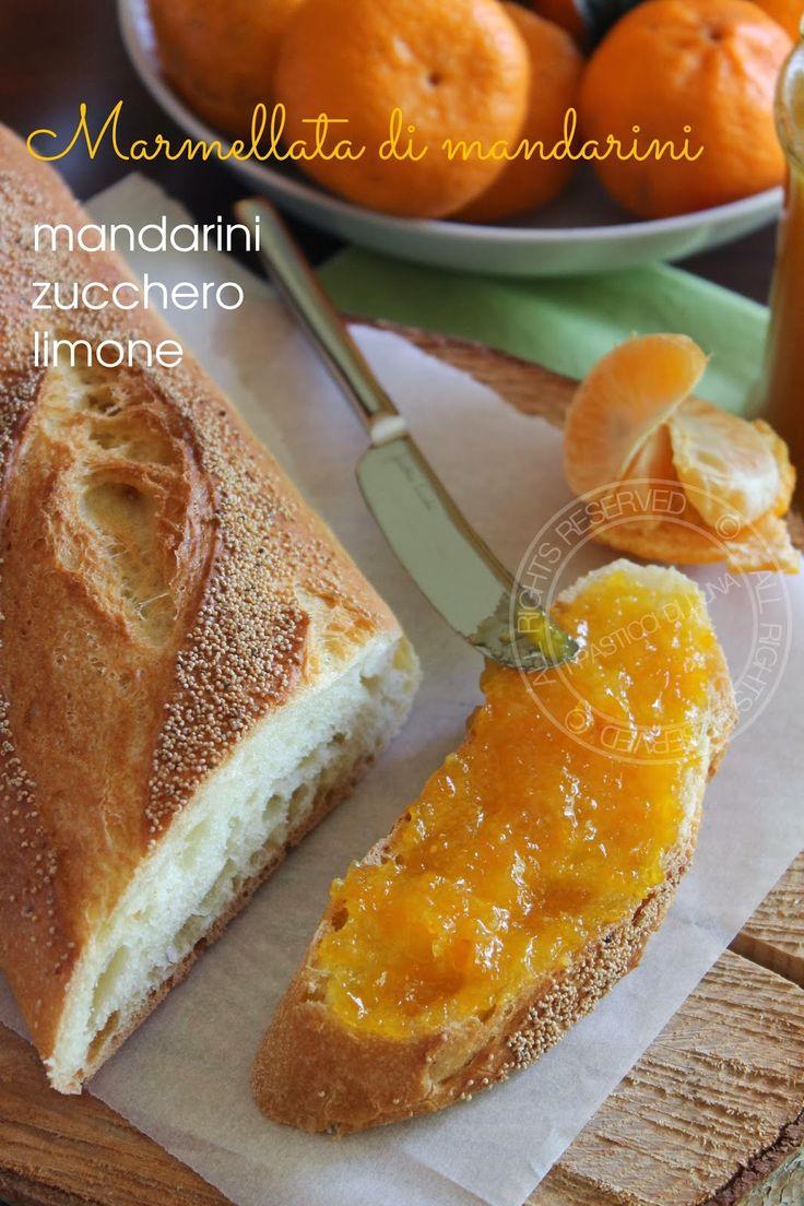 I Pasticci di Luna: Ricetta Marmellata di mandarini