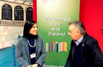 Paolo Fresilli, Presidente di Ciao Italia delegazione irlandese parla della valorizzazione del Made in Italy e delle azioni messe in campo dalla FIBI!