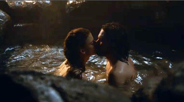 Resultado de imagen para arya and gendry kiss