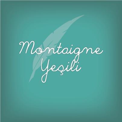 """Bugün sizin için seçtiğimiz renk Montaigne Yeşili! Bu renk Rönesans düşünürlerinden Montaigne'in rengi. Deneme türündeki ilk eser olan """"Denemeler"""" isimli kitap Montaigne'in en önemli eseridir."""