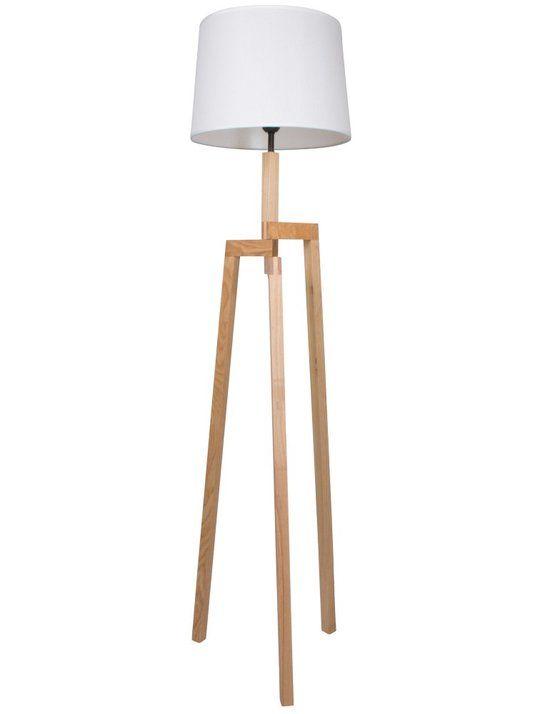 Landelijke vloerlamp - Bronq Bess - Berken 139,95