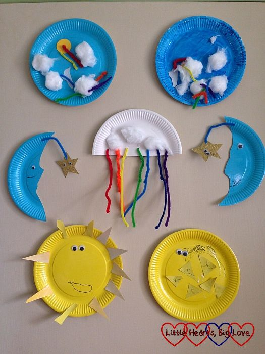 Up in the sky: themed crafts for toddlers and preschoolers - Little Hearts, Big Love
