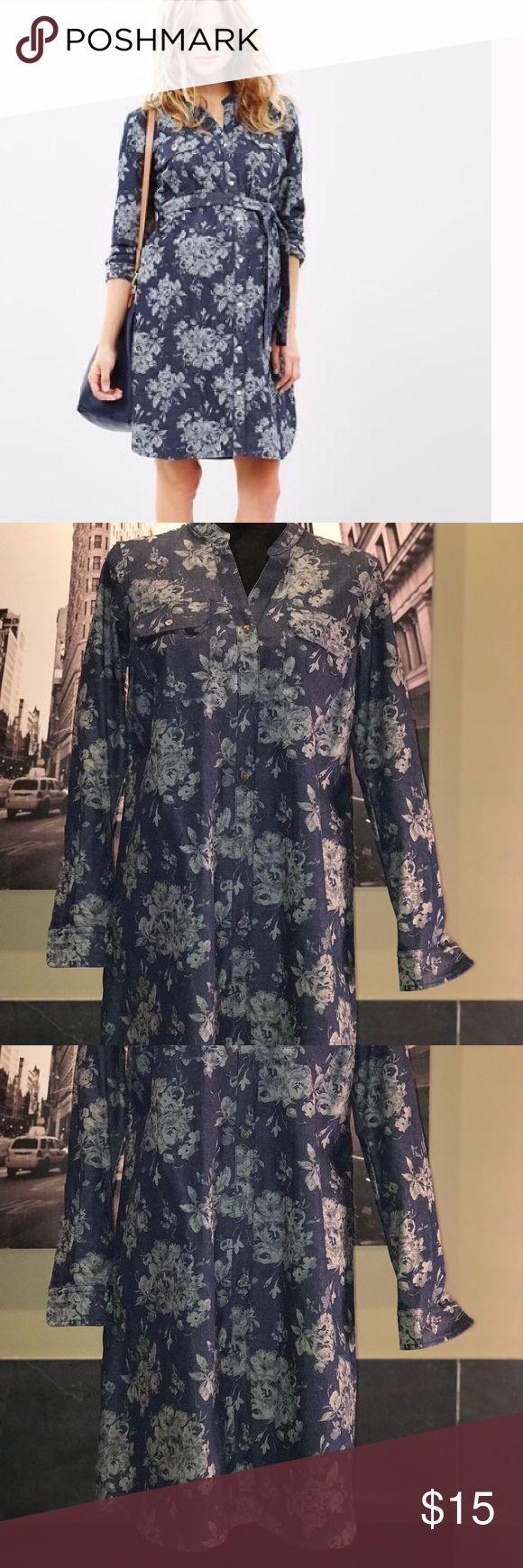 The 25 best denim maternity dresses ideas on pinterest summer gap denim maternity dress ombrellifo Image collections