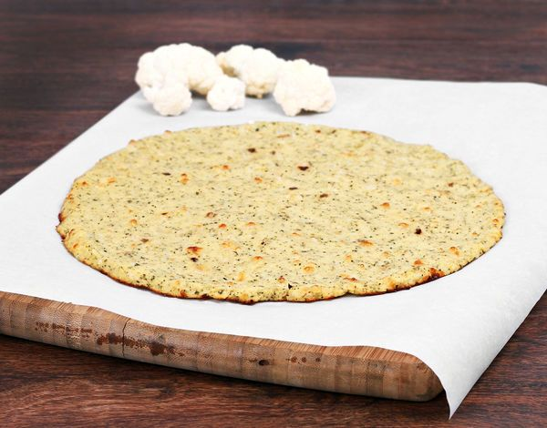 I'm Obsessed With This Cauliflower Pizza Crust! If You Haven't Tried It Yet You Need To!