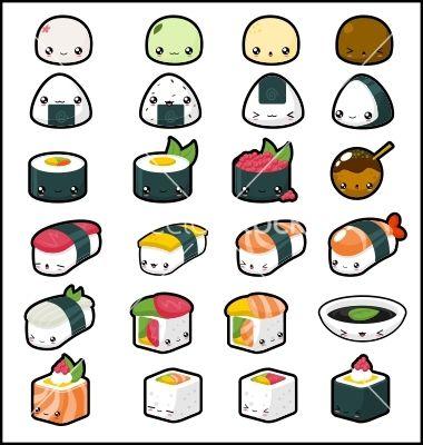 more Kawaii Sushi <3 <3