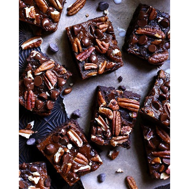 Nutty Pumpkin Pecan Brownies on @the_feedfeed https://thefeedfeed.com/tutti_dolci/nutty-pumpkin-pecan-brownies