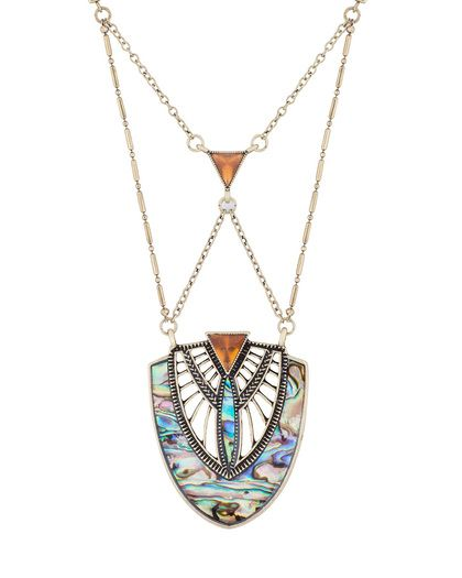 Art-deco inspired Necklace